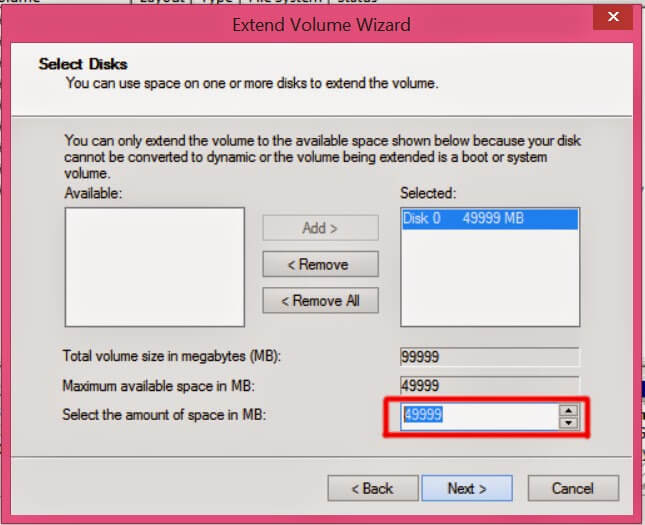 How to partition your Hard Drive quickly? 5