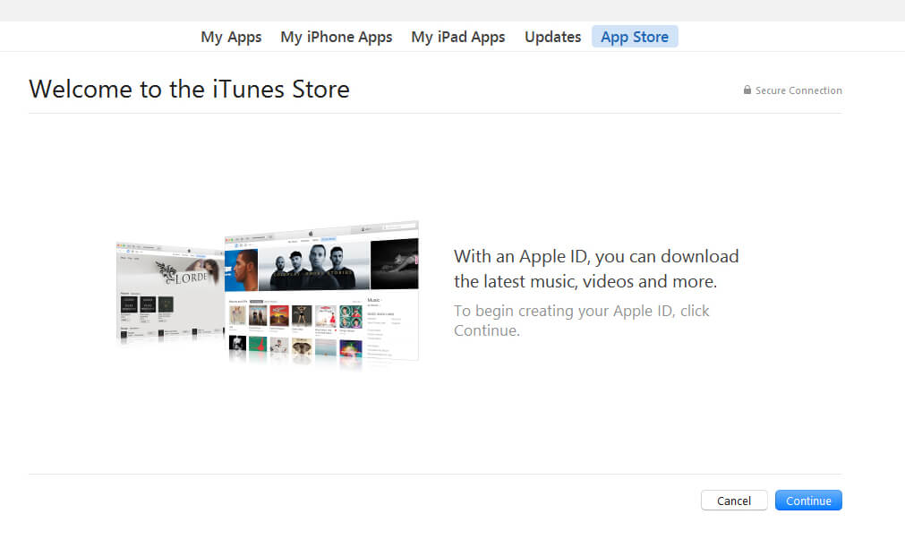 How to create free Apple ID easily in few simple steps? 3