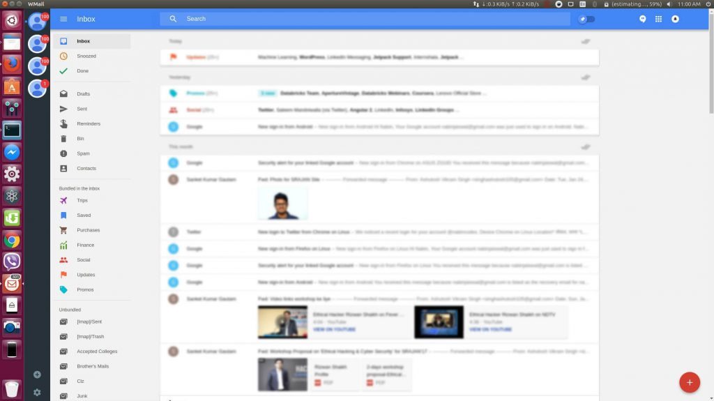 WMail - Gmail Desktop Client Application 4