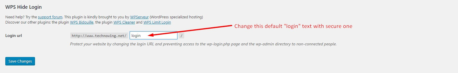4 Steps to Secure WordPress Login Page 1