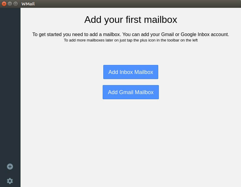 WMail - Gmail Desktop Client Application 2
