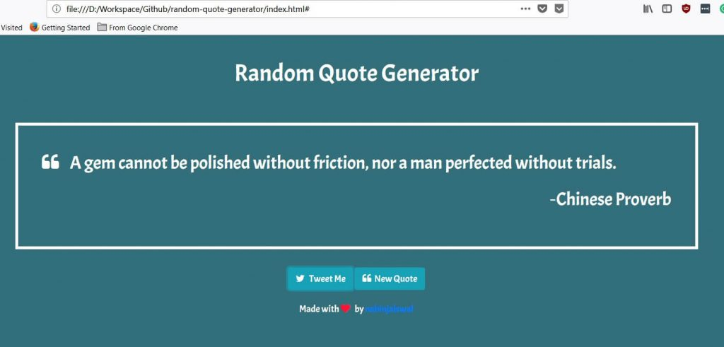 How to Build a Random Quote Generator with JavaScript and HTML using an API? 5