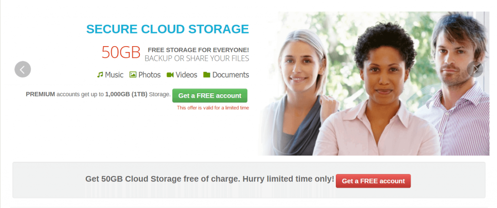 Top 15 Free Cloud Storage 13