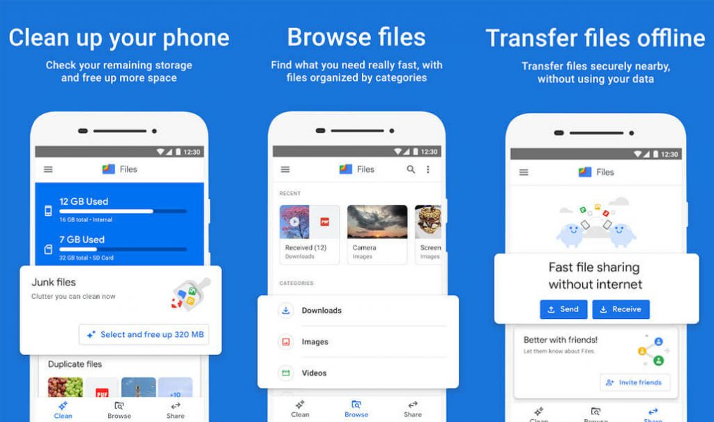 best free android apps - Files by Google