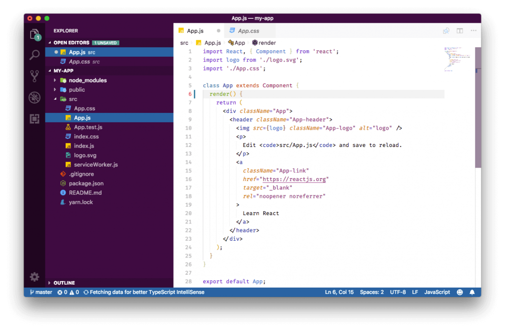 best visual studio extensions - Slack Theme